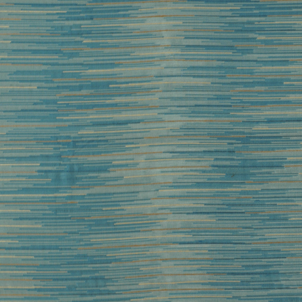 LARRY LASLO MIAMI BEAT Villa Viscaya Fabric - Aquatic