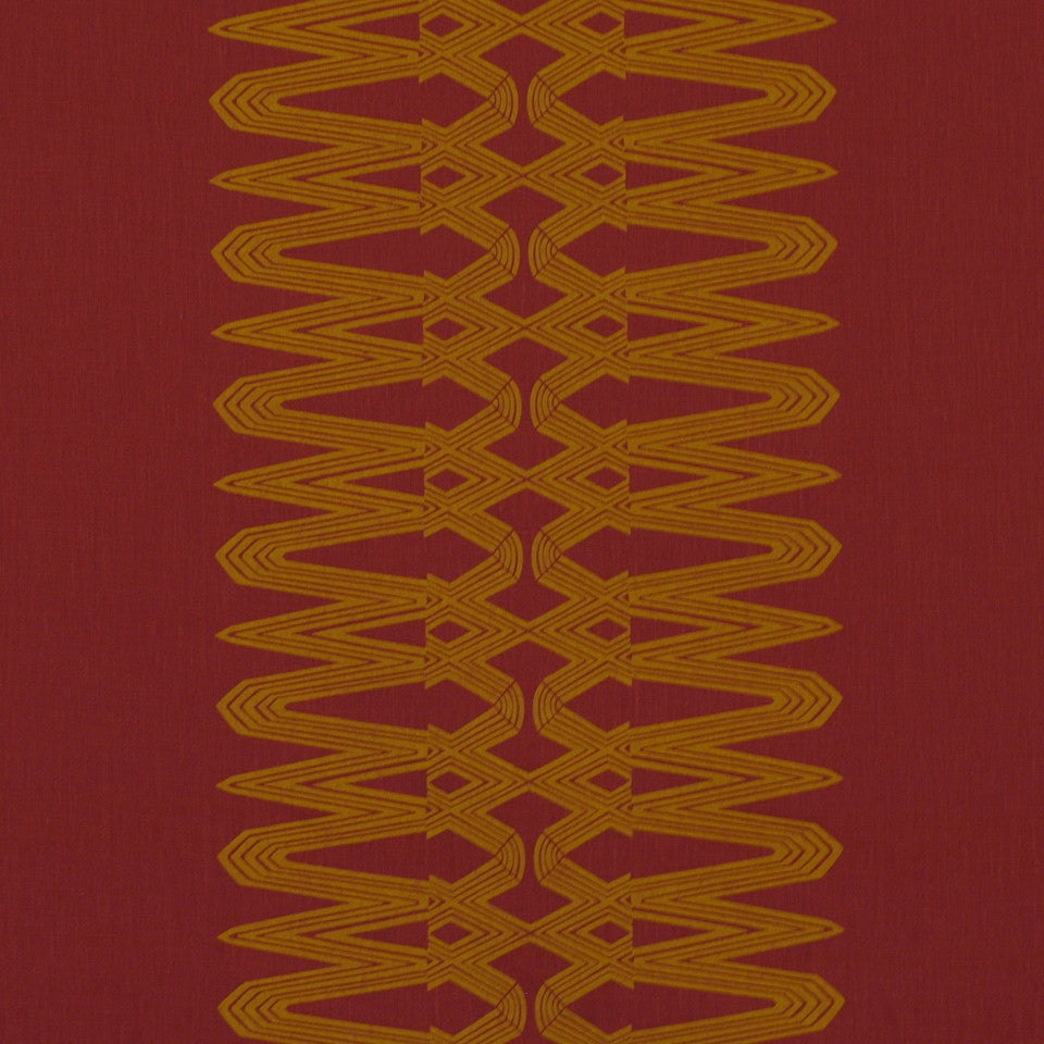 LARRY LASLO MIAMI BEAT Metropole Fabric - Habanero