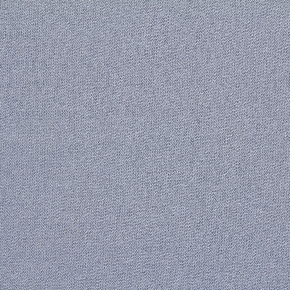 LINEN, WOOL AND CASHMERE SOLIDS Wool Sateen Fabric - Blue Smoke