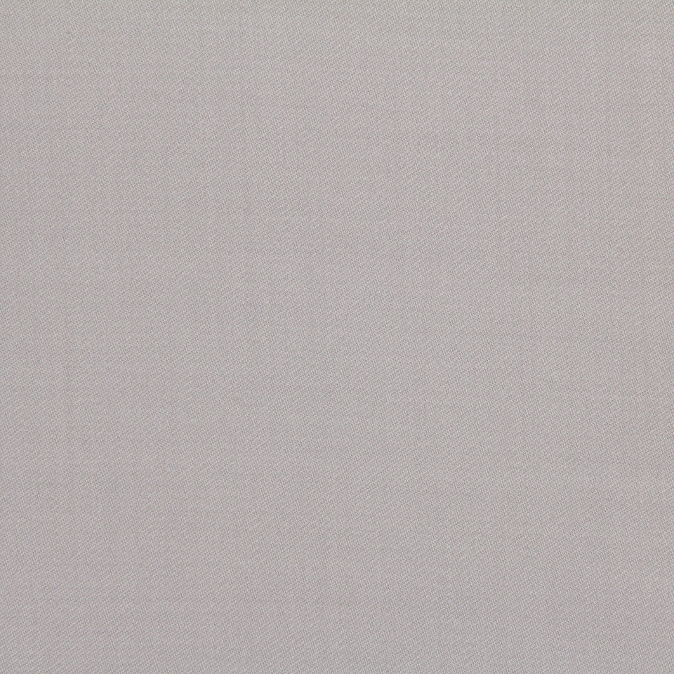 Wool Sateen Fabric - Silver