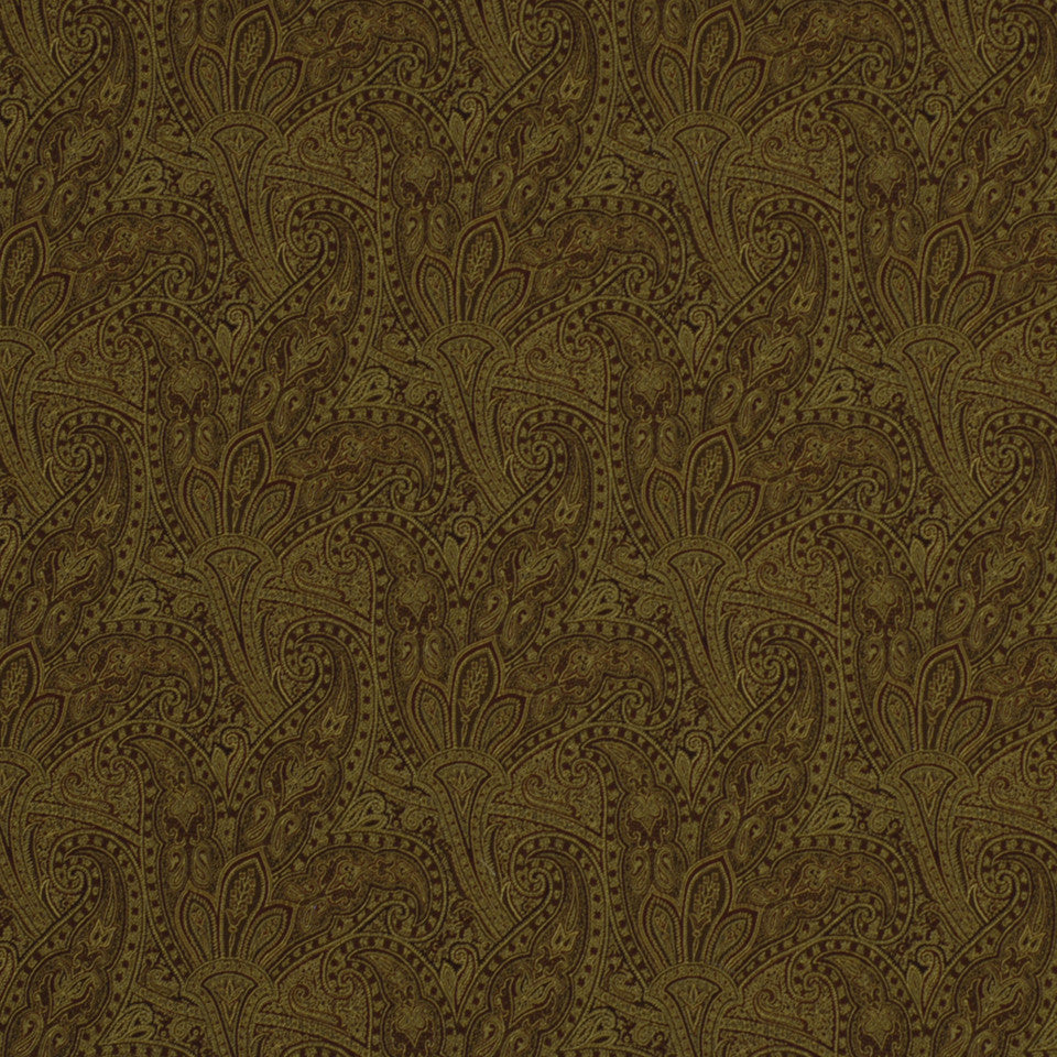 NEUTRALS Basket Flower Fabric - Rust