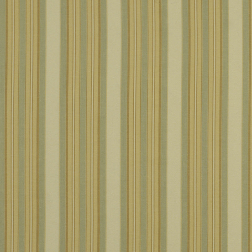 SEAGLASS Thistle Stripe Fabric - Golden Ming