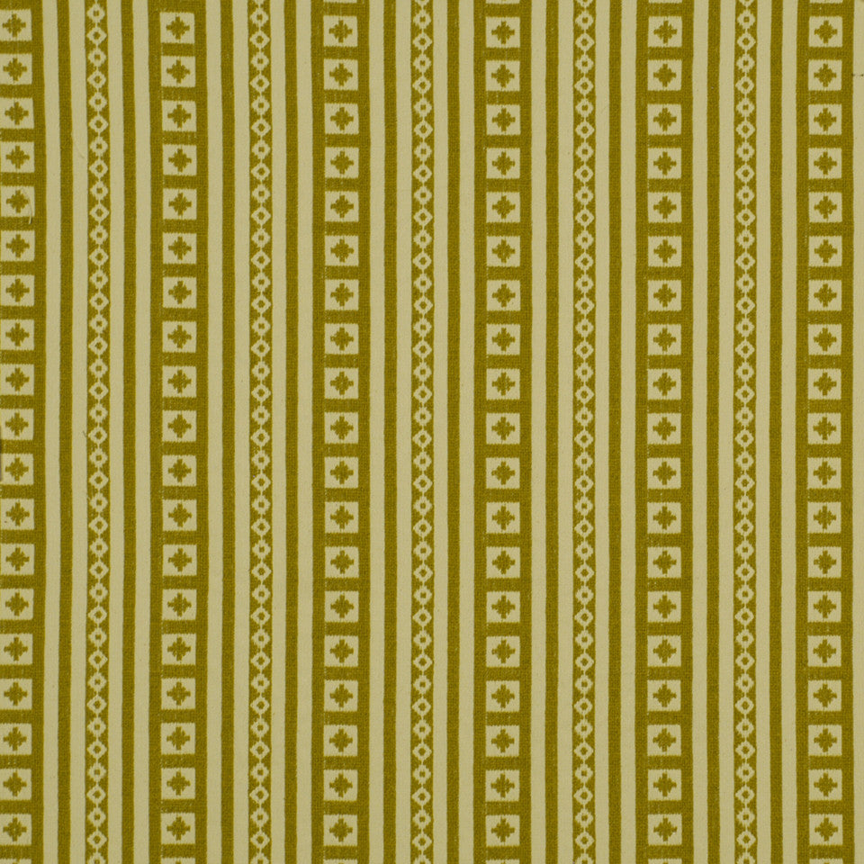 LARRY LASLO RUSTIC CHIC Aspen Lodge Fabric - Lemon Curry