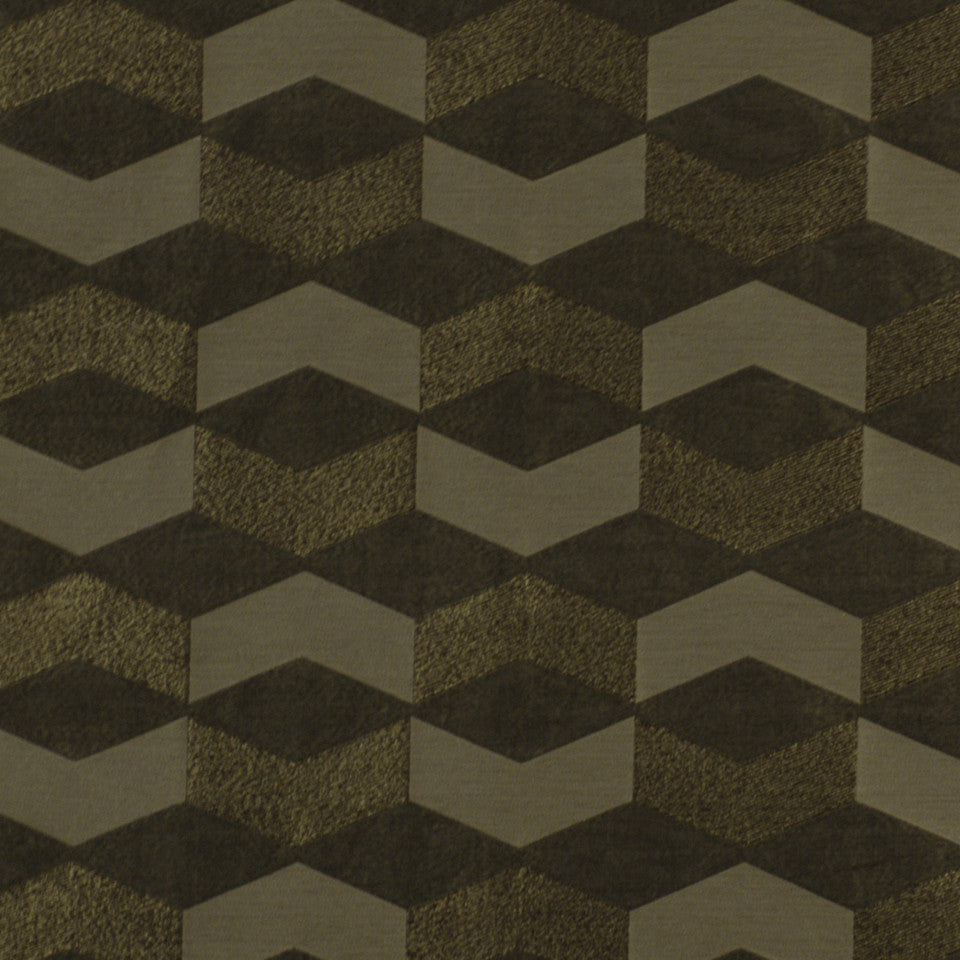 LARRY LASLO RUSTIC CHIC Ouray Fabric - Cobblestone