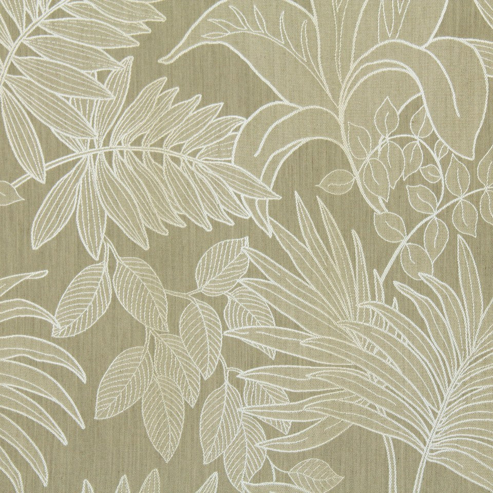 LARRY LASLO RUSTIC CHIC Palm Resort Fabric - Stucco