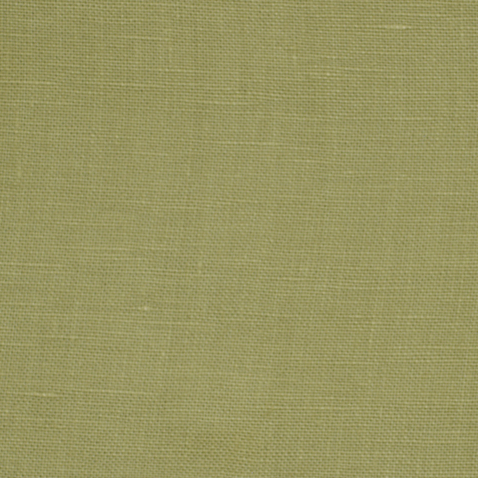 LINEN TEXTURES MP Kilrush Fabric - Green Tea
