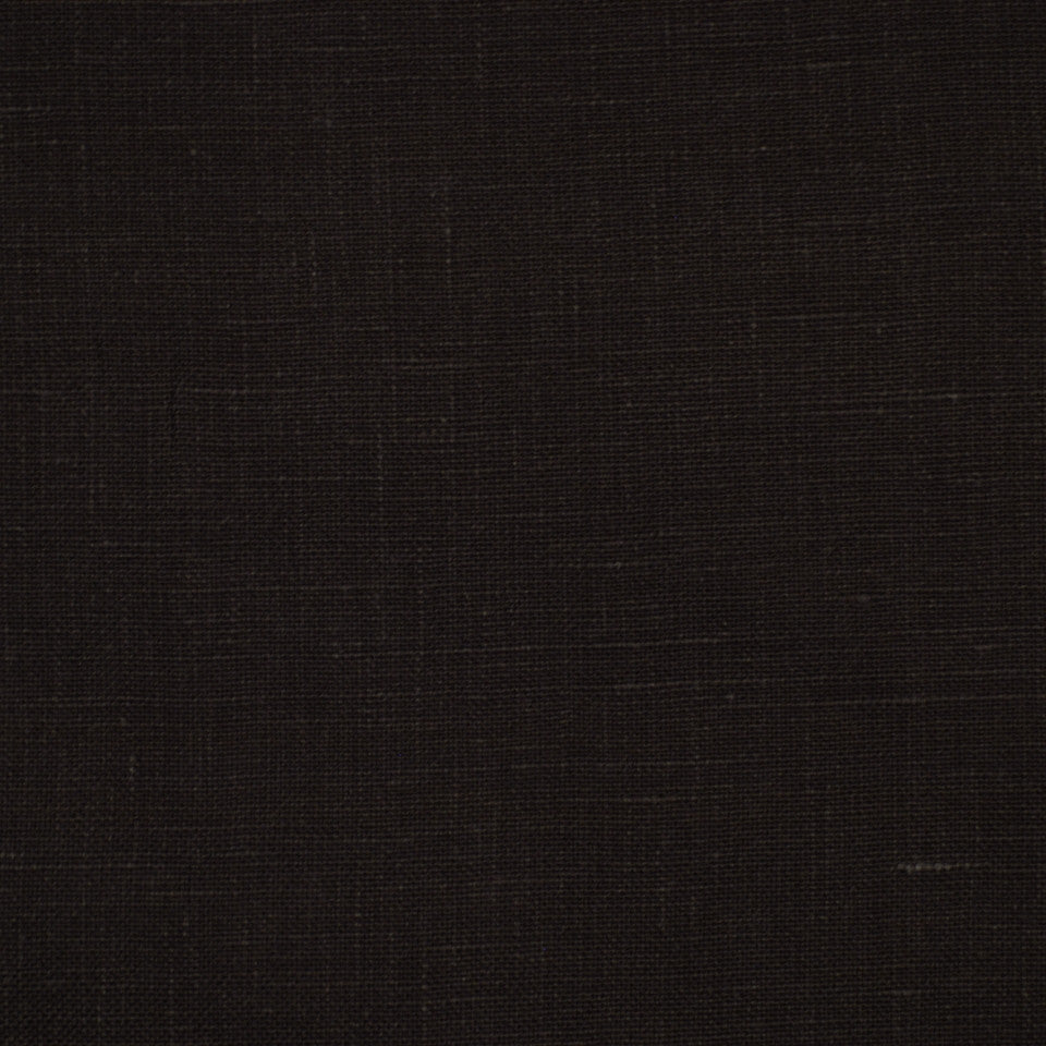 LINEN TEXTURES MP Kilrush Fabric - Midnight