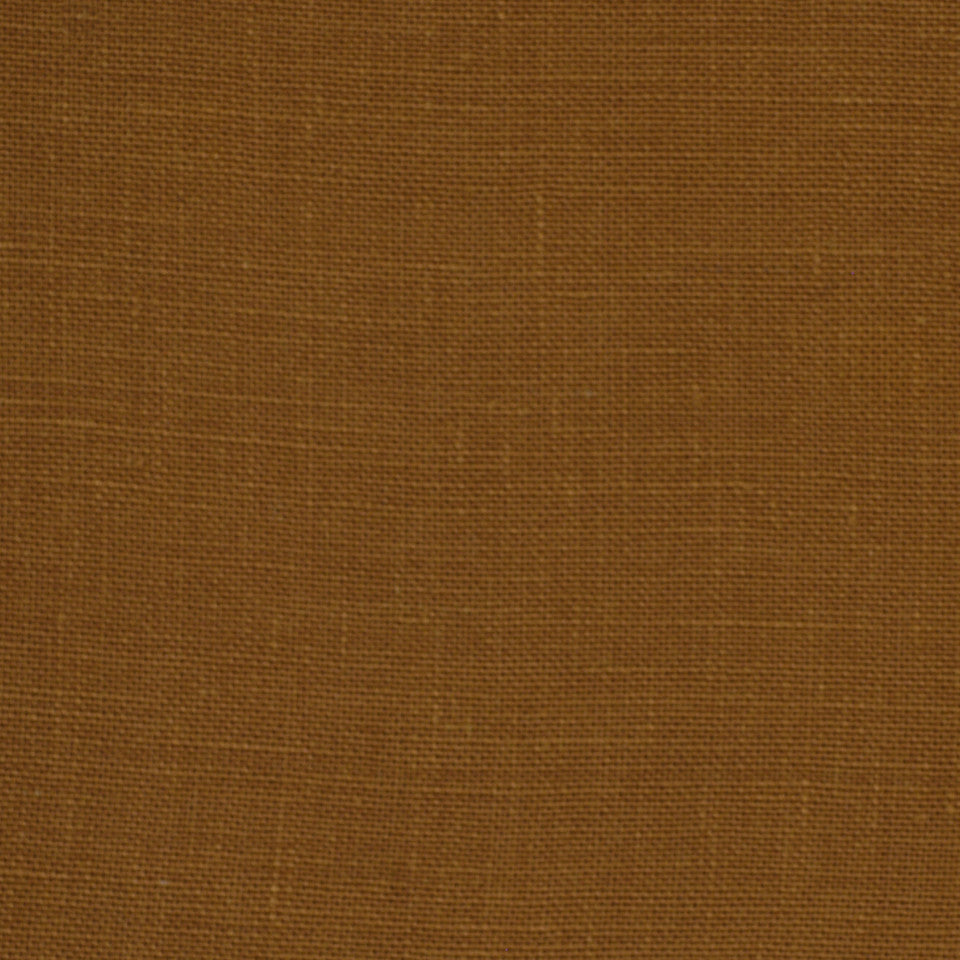 LINEN TEXTURES MP Kilrush Fabric - Terracotta