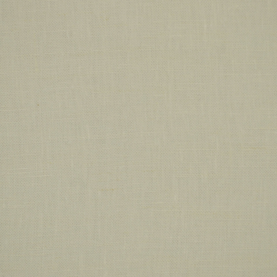 LINEN TEXTURES MP Kilrush Fabric - White