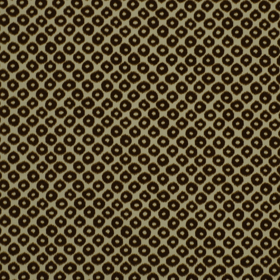 Ikat Geo Fabric - Tobacco