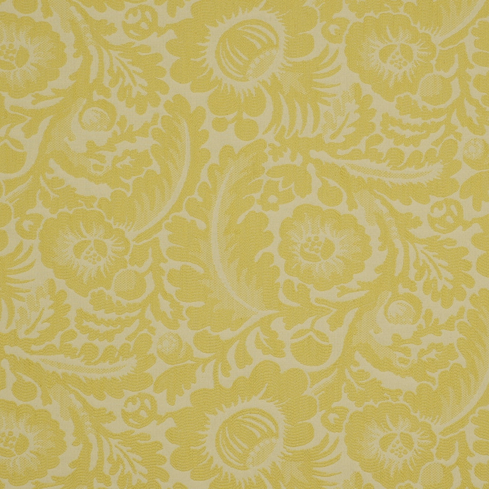 YELLOW LOTUS Morning Dew Fabric - Yellow Lotus