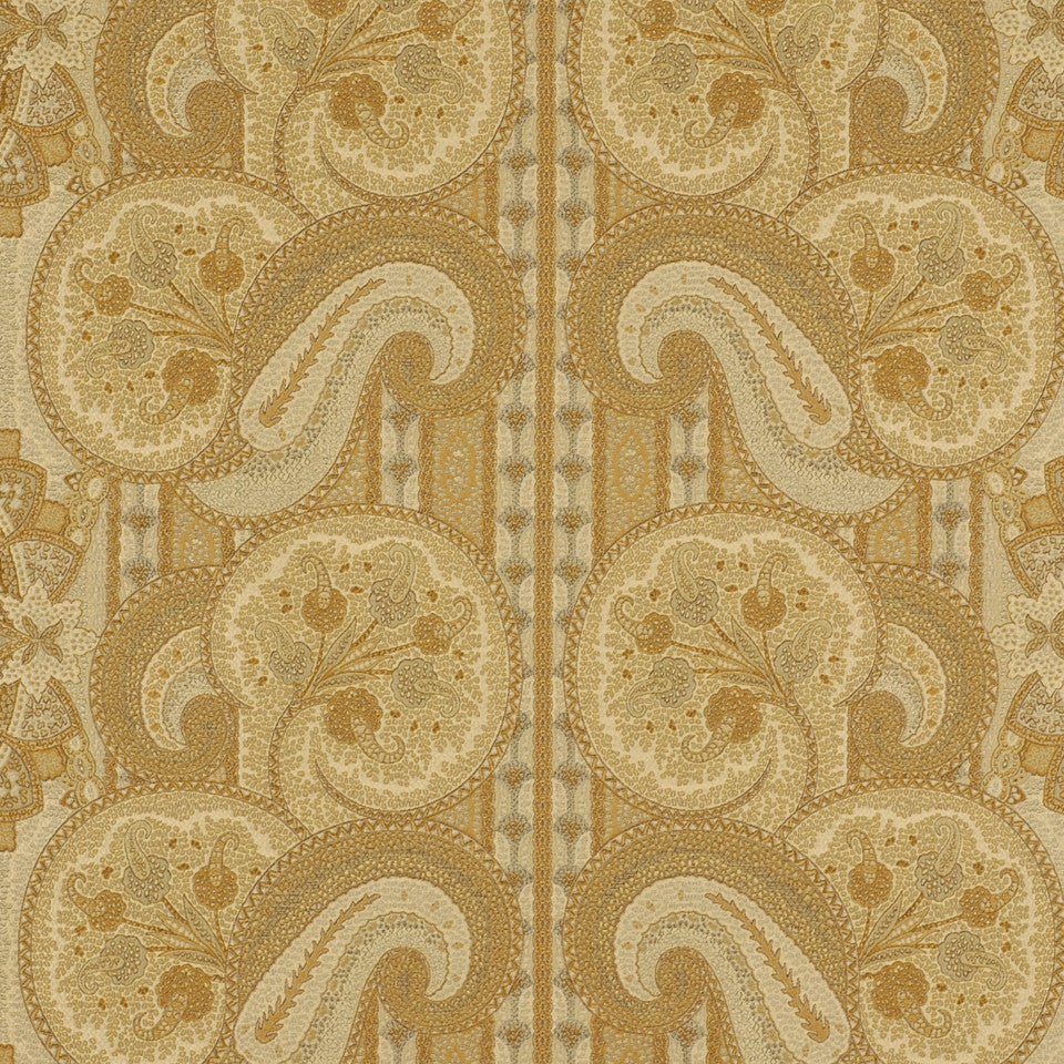 YELLOW LOTUS La Alianza Fabric - Yellow Lotus
