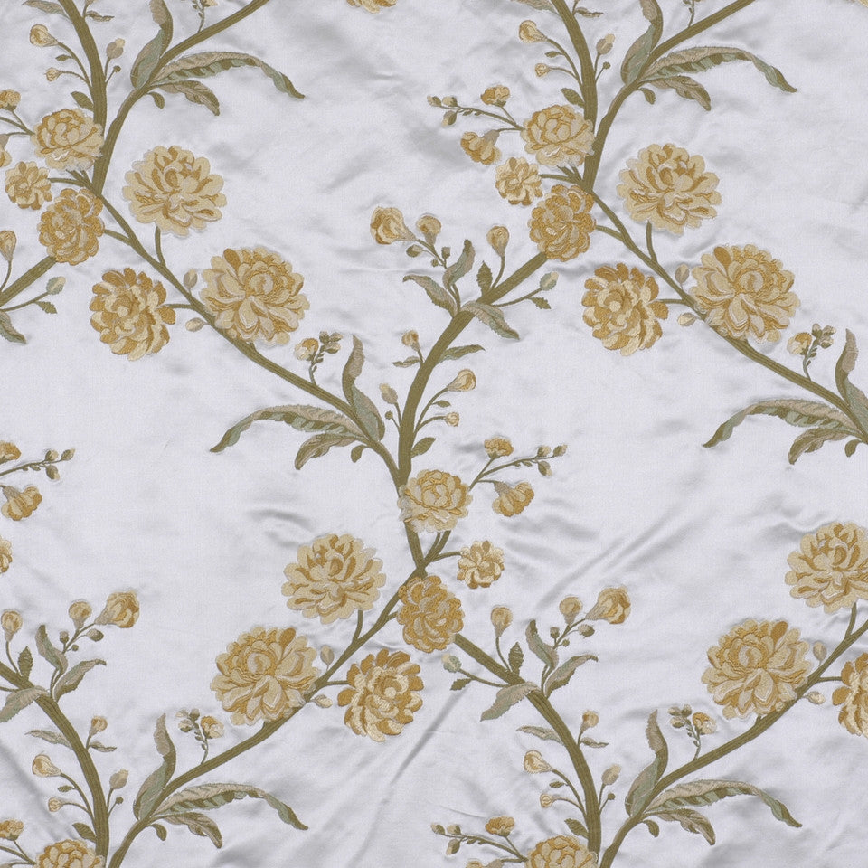 YELLOW LOTUS Rose Queen Fabric - Yellow Lotus