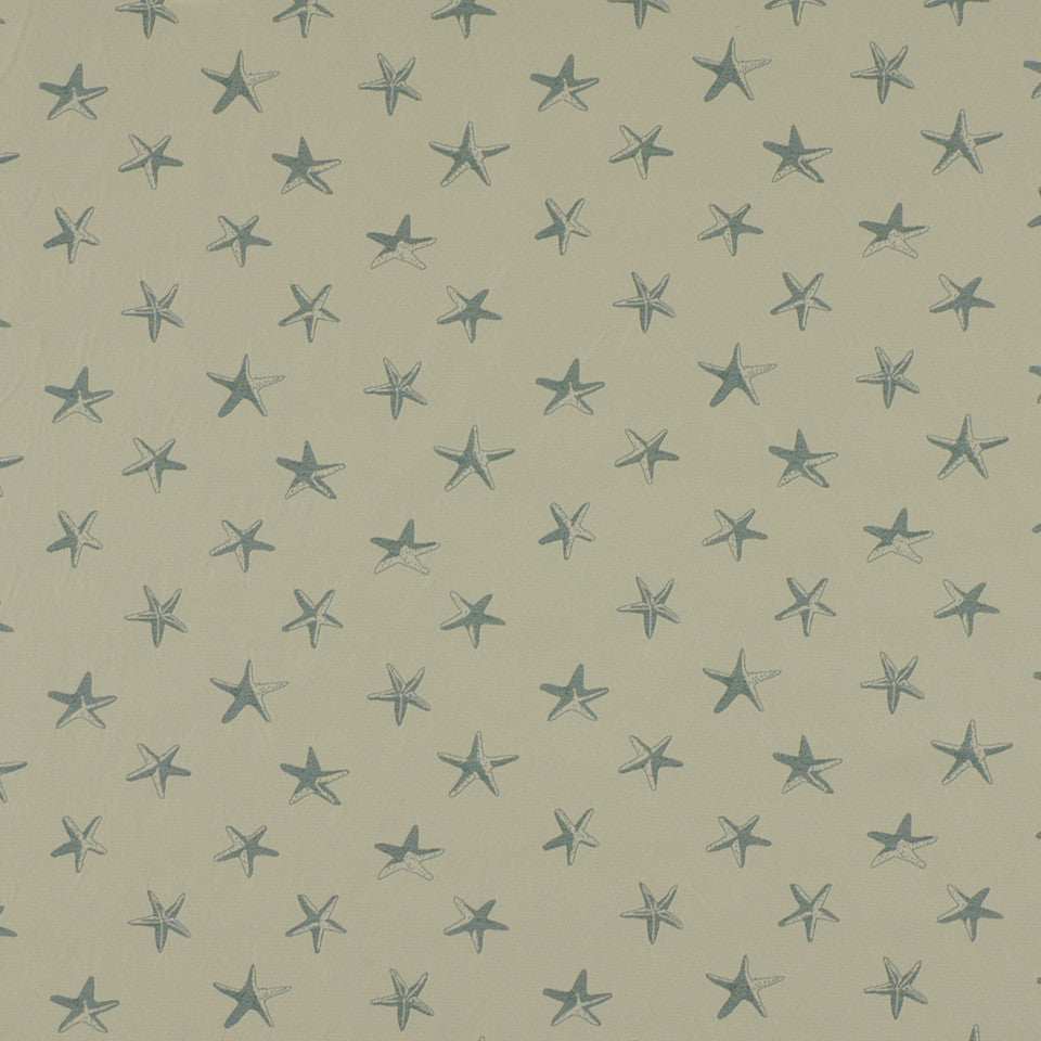 DOCKSIDE Sallys Shells Fabric - Surf