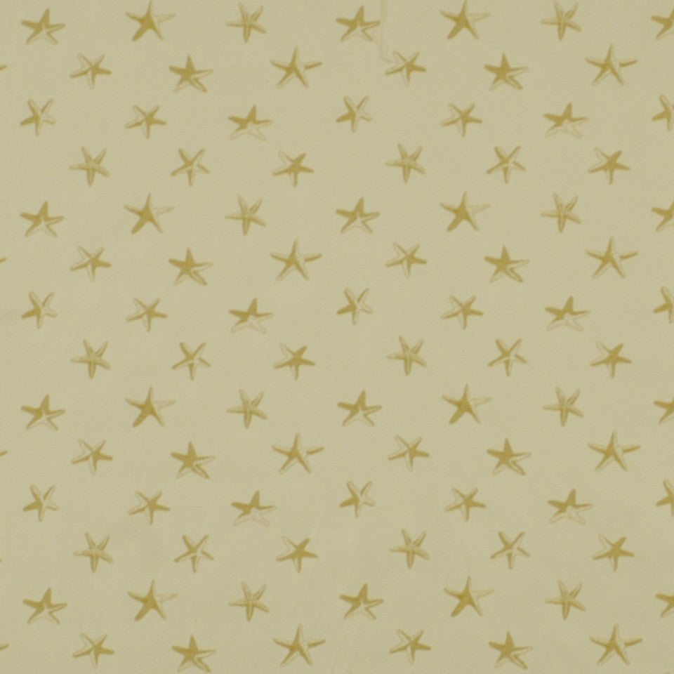 DOCKSIDE Sallys Shells Fabric - Sand