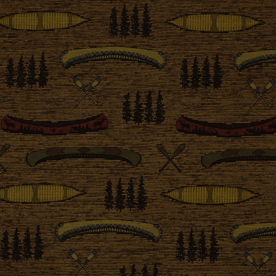 FIRESIDE Cabin Creek Fabric - Saddle