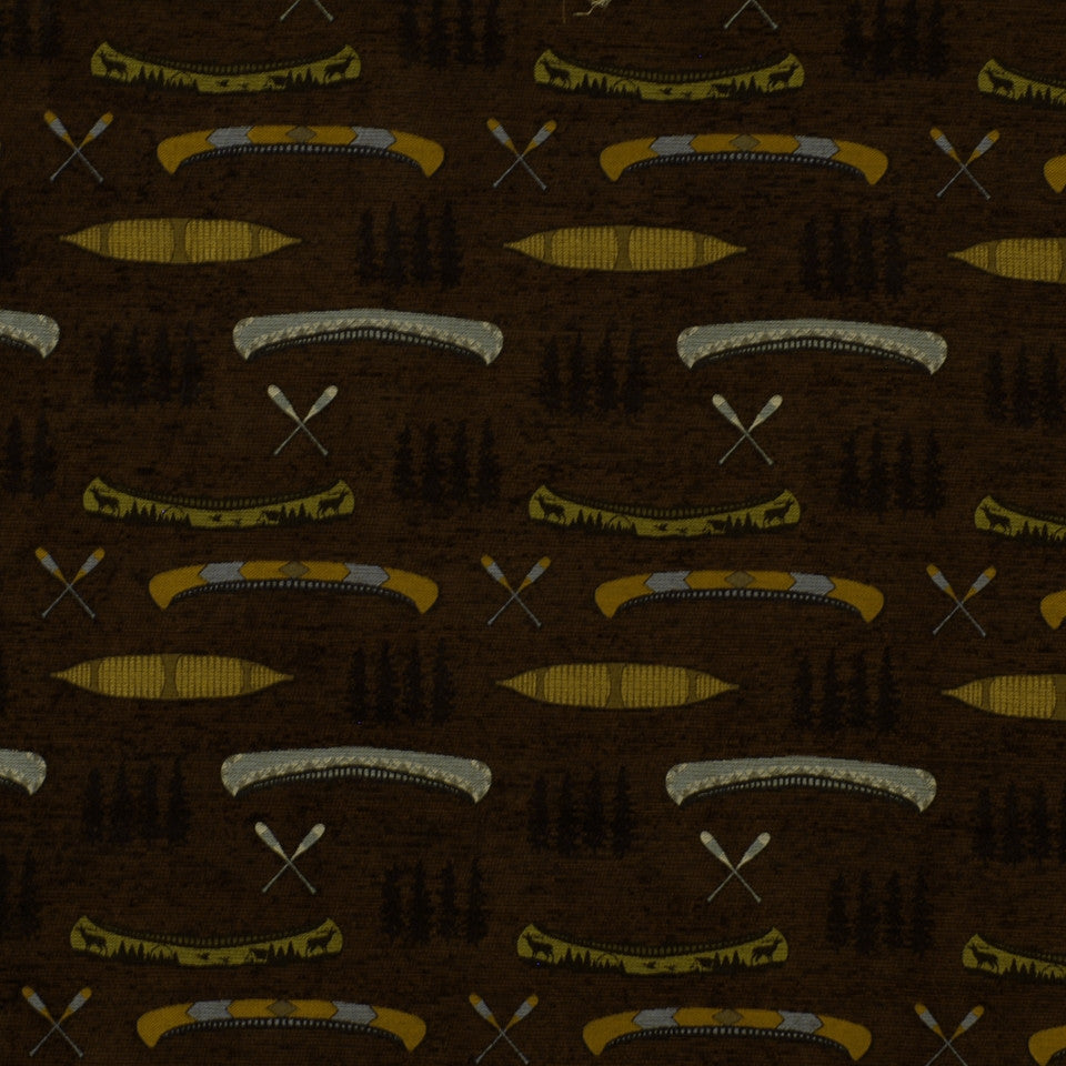 FIRESIDE Cabin Creek Fabric - Earth
