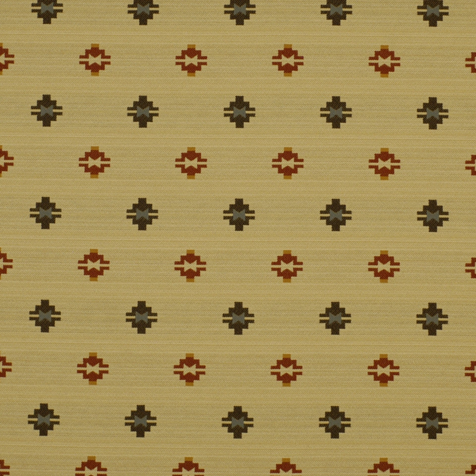 FIRESIDE Moose Lodge Fabric - Flame