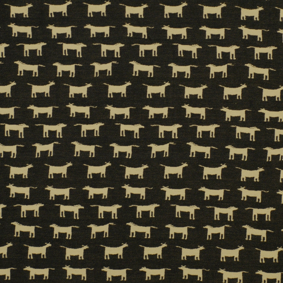 FIRESIDE Horblit Ranch Fabric - Black