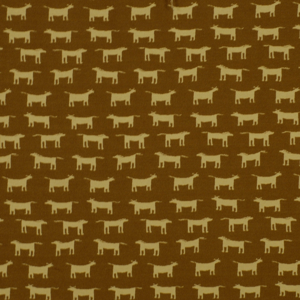 FIRESIDE Horblit Ranch Fabric - Saddle