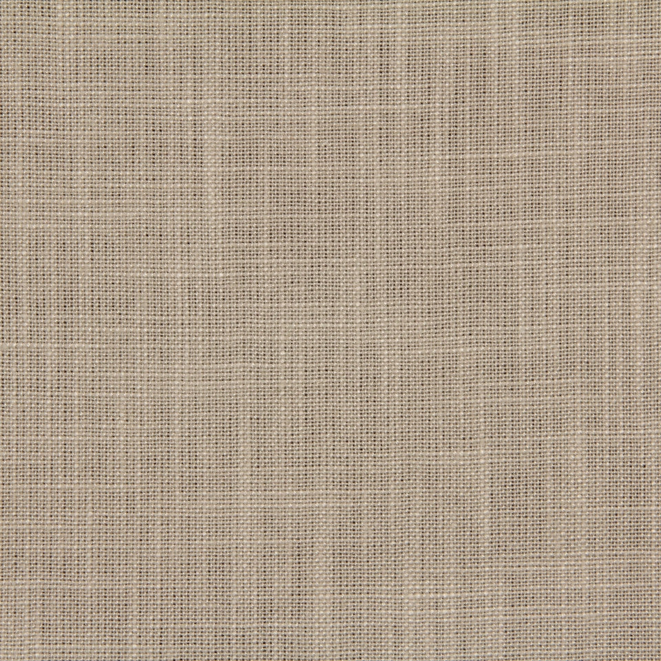 LINEN TEXTURES MP Country Plains Fabric - Coconut
