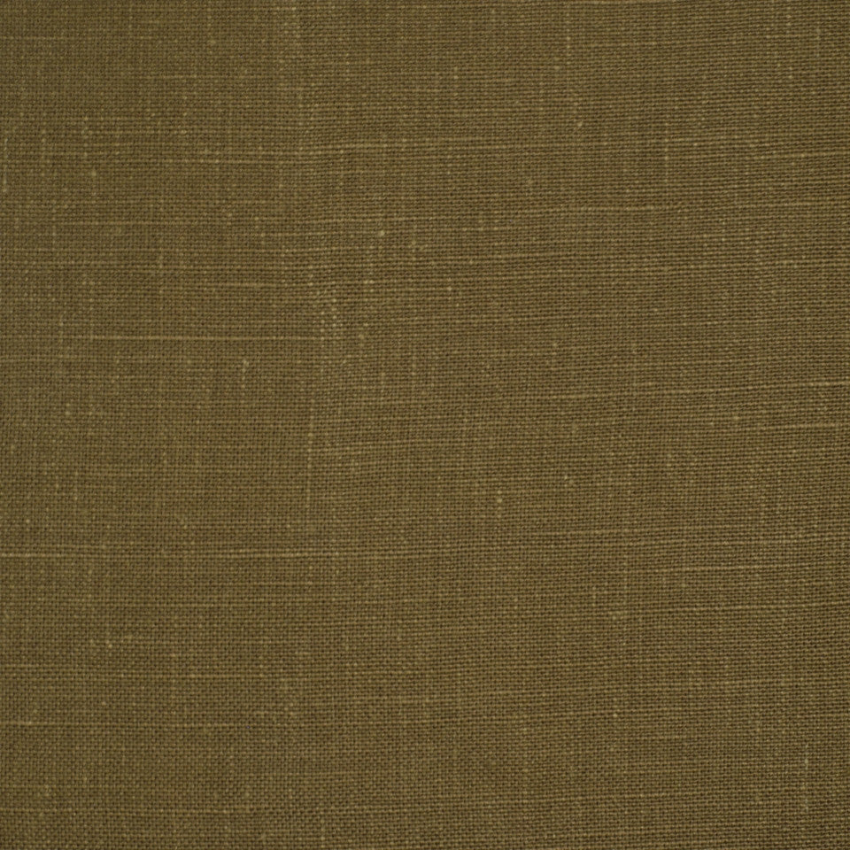 LINEN TEXTURES MP Kilrush Fabric - Bark