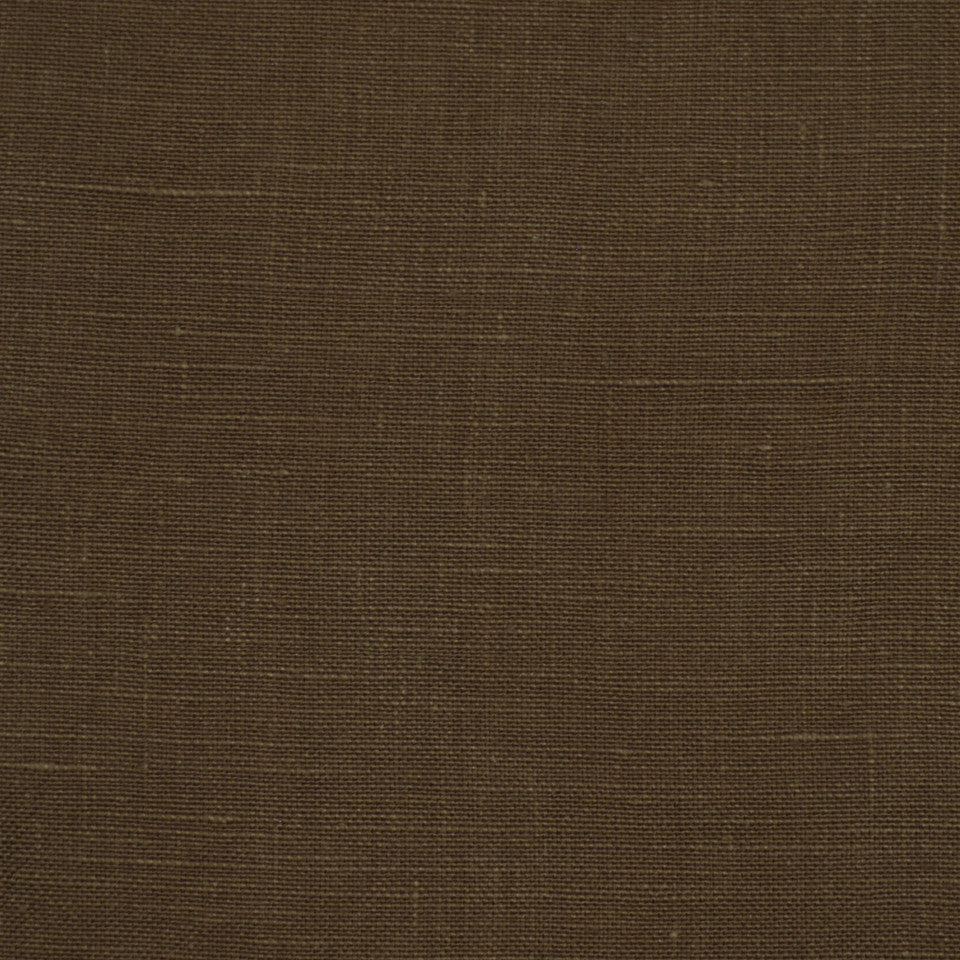 LINEN TEXTURES MP Kilrush Fabric - Earth