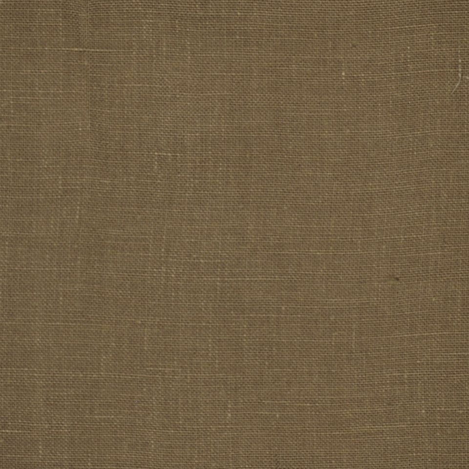 LINEN TEXTURES MP Kilrush Fabric - Mocha