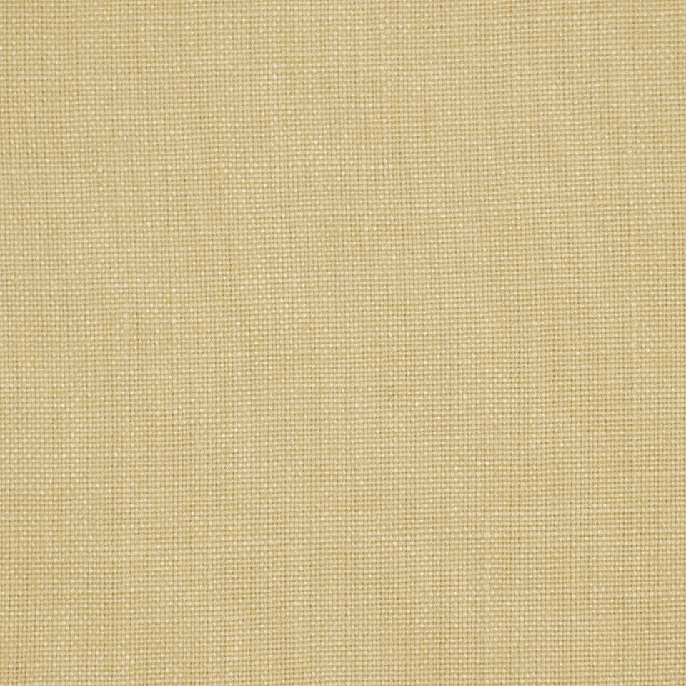 LINEN TEXTURES MP Valemont Fabric - Custard