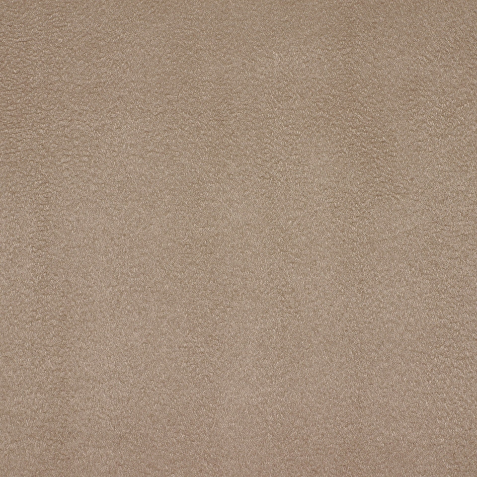 PERFORMANCE CHENILLES Smooth Suede Fabric - Nougat