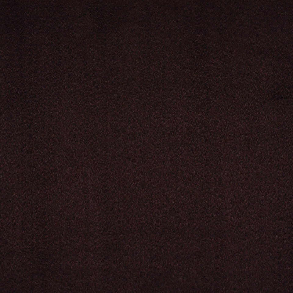 PERFORMANCE CHENILLES Smooth Suede Fabric - Caviar