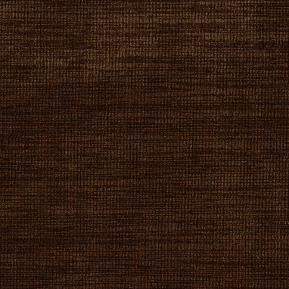 PERFORMANCE CHENILLES Cracker Lines Fabric - Bark