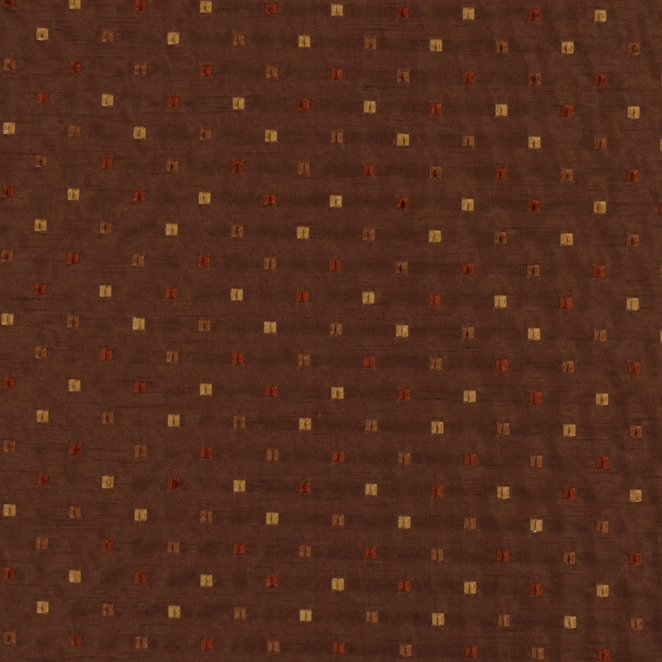 NEUTRAL ORNAMENTALS Valarelli Fabric - Walnut