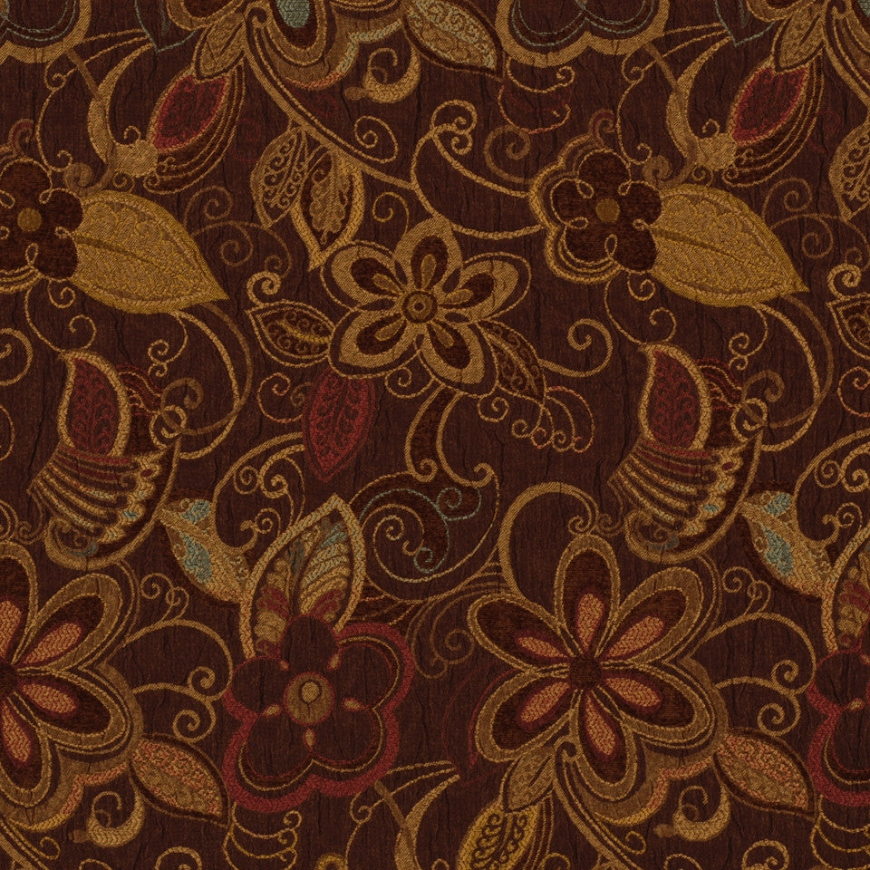 NEUTRAL ORNAMENTALS Boscastle Fabric - Terrain