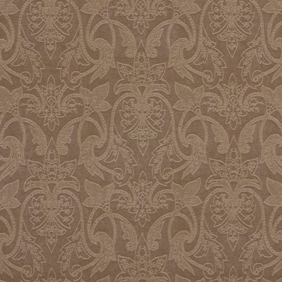NEUTRAL ORNAMENTALS Hutcherleigh Fabric - Ash