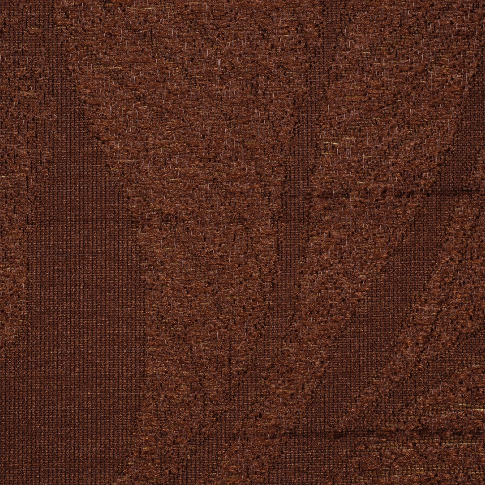 NEUTRAL ORNAMENTALS Joyful Feeling Fabric - Chocolate