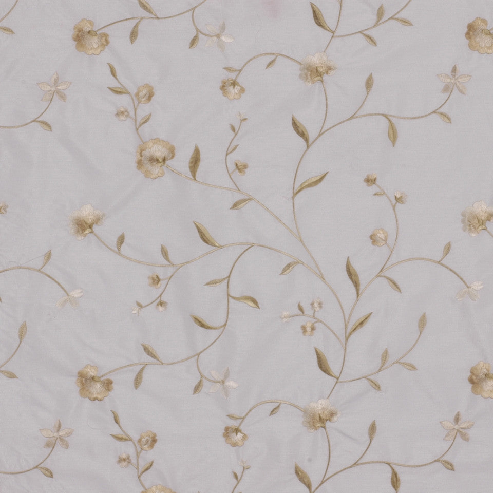 NEUTRAL ORNAMENTALS Nicolette Fabric - White