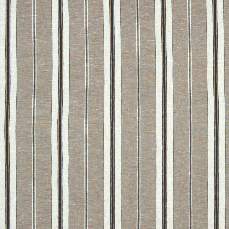 PUMICE-WHITEWASH-FLAX Grainy Road Fabric - Linen