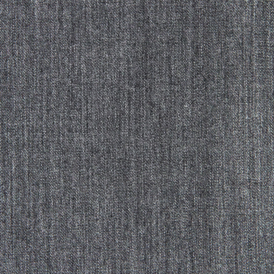 WOOL TEXTURES Wool Twill Fabric - Gray