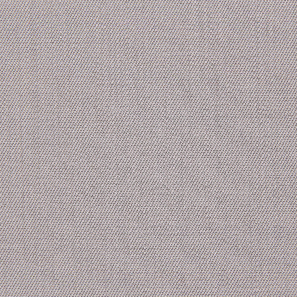 WOOL TEXTURES Wool Twill Fabric - Silver