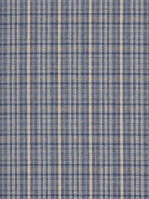 COOL Humboldt Plaid Fabric - Lapis