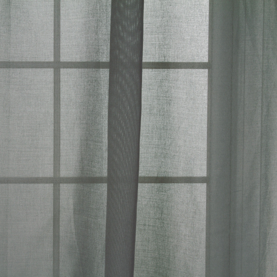 TEXTURED SHEERS Elegant Sheer Fabric - Silver
