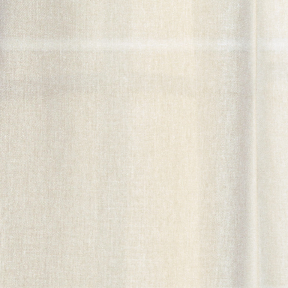 TEXTURED SHEERS Elegant Sheer Fabric - White