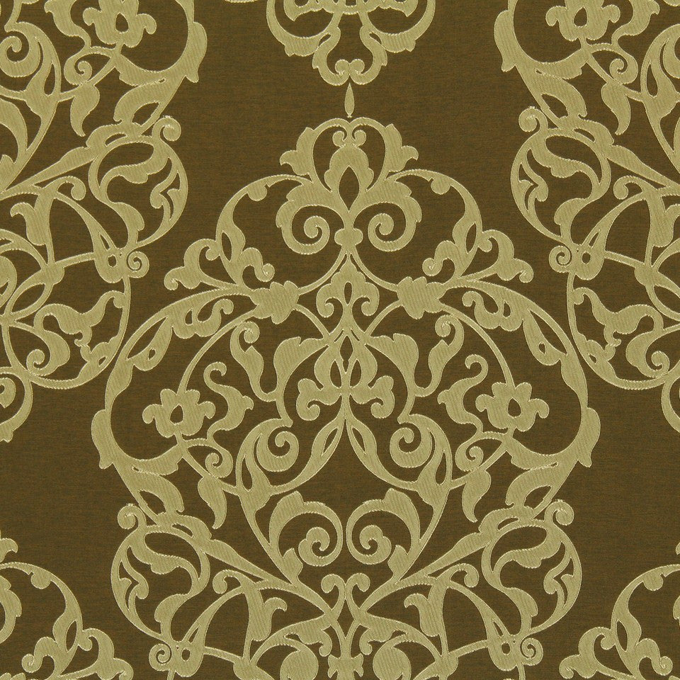 WARM TONES Haddon Hall Fabric - Bamboo
