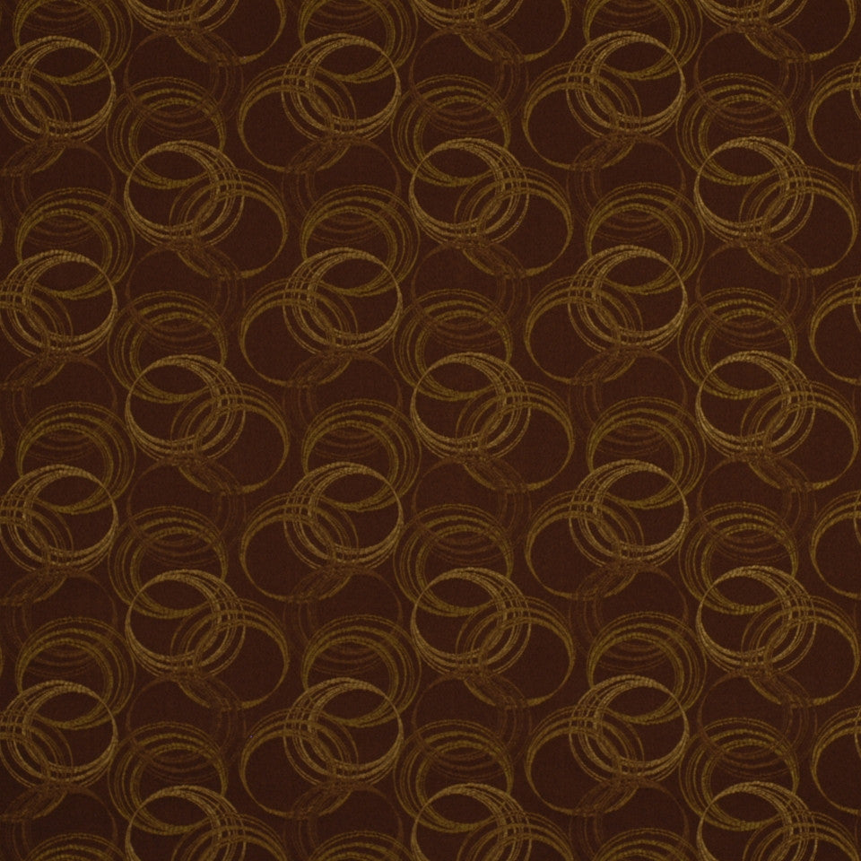 COOL TONES Circling Fabric - Tarragon