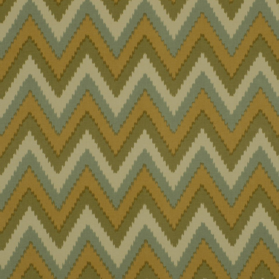 COOL Pikake Fabric - Patina
