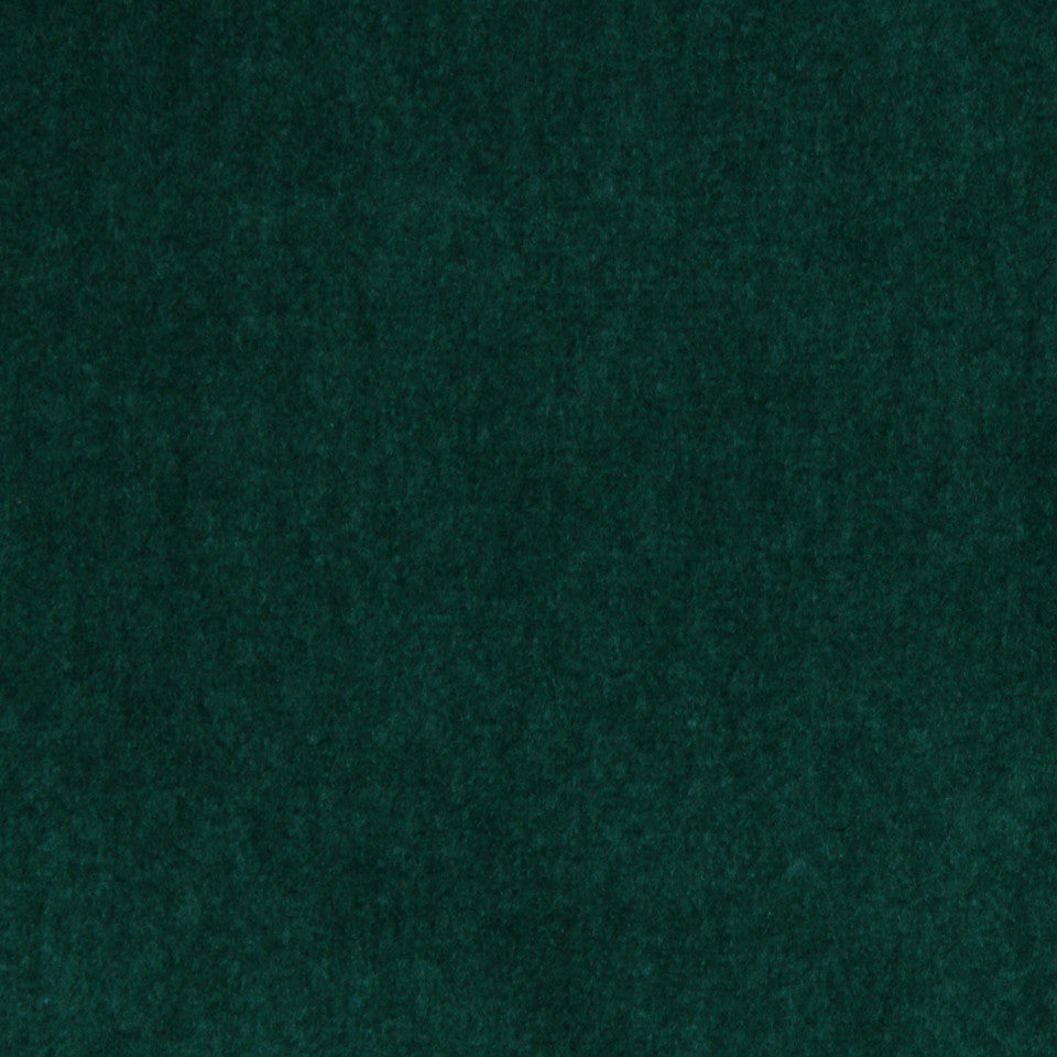 COVE Wool Velvet Fabric - Peacock
