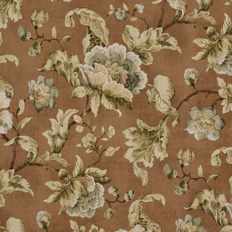 COOL Budding Blooms Fabric - Branch