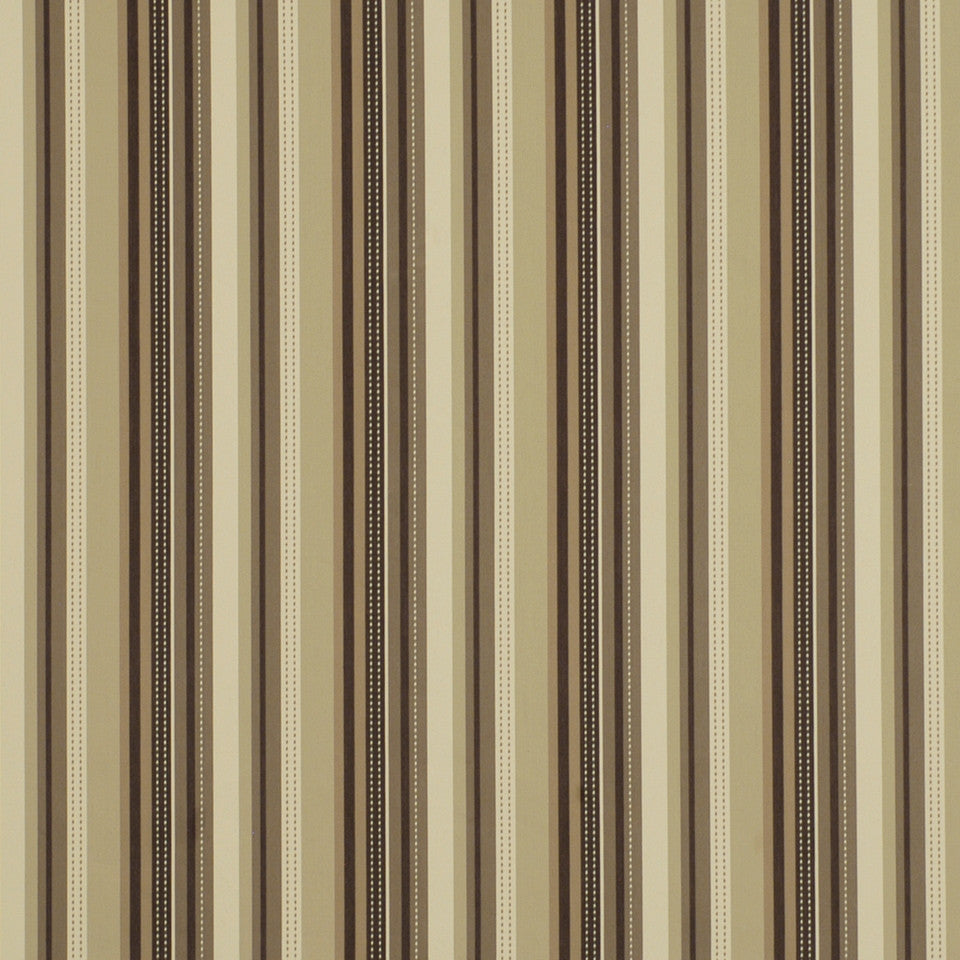 WARM Retro Stripe Fabric - Bark