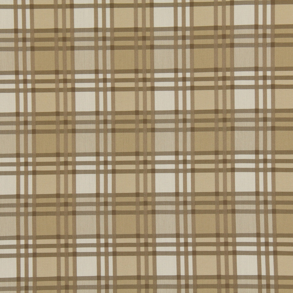 WARM Checker Street Fabric - Twig